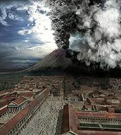 Vesuvio in eruption