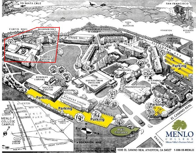 Menlo Campus Map